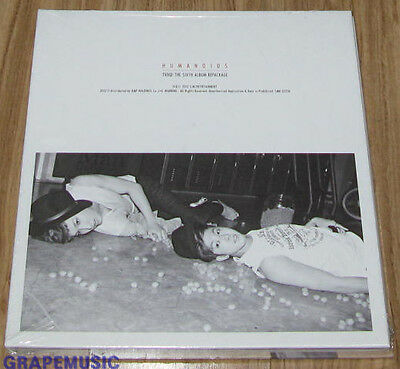 DONG BANG SHIN KI TVXQ Humanoids Catch Me REPACKAGE ALBUM CD + PHOTOBOOK SEALED
