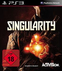 PS3 / Sony Playstation 3 Spiel - Singularity (mit OVP)(USK18)