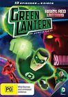 Green Lantern - The Animated Series - Rise Of Red Lanterns : Season 1 : Part 1 (DVD, 2013, 2-Disc Set)