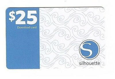 SILHOUETTE - SD or Cameo - $25 Digital Download Card