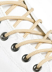 ROUND-WHEAT-SHOE-LACES-LONG-SHOELACES-3mm-wide-11-LENGTHS-HIGH-QUALITY