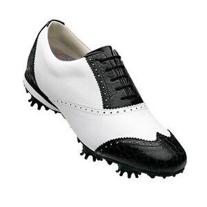 FOOTJOY-LoPro-SHIELD-LADIES-GOLF-SHOE-97217-WHITE-BLACK