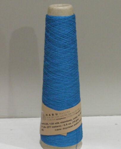 Habu Silk Stainless Steel Yarn May use for Kusha