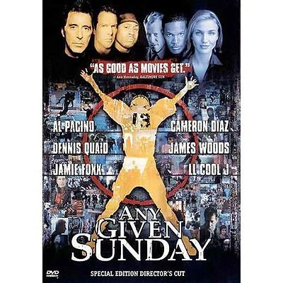 Any Given Sunday (DVD, 2001, 2-Disc Set, Oliver Stone Collection)