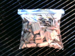 Hickory-Wood-Smoking-Chips-For-Bar-B-Q-Grills-100-Natural-Fresh-Cut-Half-Pound
