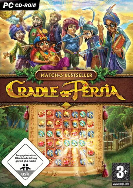 Cradle Of Persia (PC, 2009, DVD-Box)