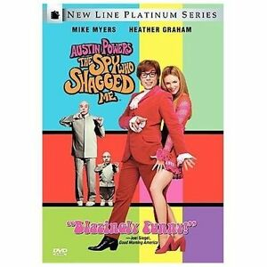 Austin Powers The Spy Who Shagged Me Dvd 1999 Special Edition Ebay