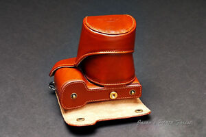 Handmade-Vintage-Leather-Full-Camera-Case-for-Sony-NEX7-Black-and-Brown-2-Colors