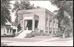 ATLANTIC-IA-IOWA-United-Presbyterian-Church-Vintage-RPPC-Postcard-Old-Real-Photo