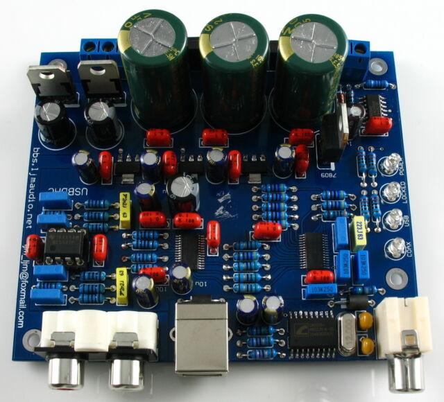CS8416+CS4398 DAC Kit  Support USB + coaxial  DAC Board