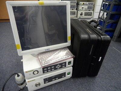 """Fujinon EVE400 Endoscopy System w/ EG-450WR5, EC-450HL5 19"""" Monitor"""