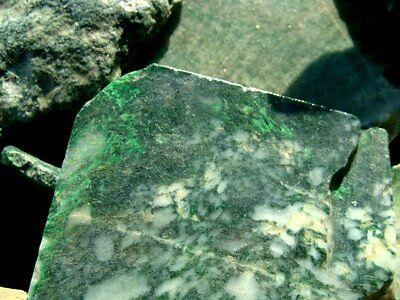 JADE SLABS - Rough Rock Slabs - 1 Lb Lots - FROM OLD STOCK MATERIAL - Jadeite
