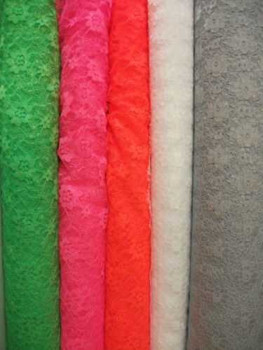 Polyester Lace Dress Fabric