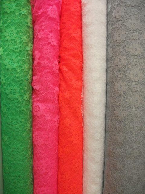 Polyester Lace Dress Fabric