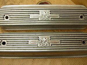 1957-1958-LINCOLN-MERCURY-M335-VALVE-COVERS-TURNPIKE-CRUSER-317-341-368-Y-BLOCK