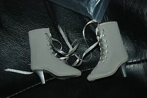 Gray-Suede-Lace-Up-Boots-for-21-039-039-Cissy-Doll-by-Madame-Alexander