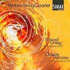 Edvard Grieg: String Quartet Op. 27; Claude Debussy: String Quartet Op. 10 (2000)