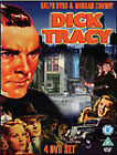 Dick Tracy Collection (DVD, 2009, 4-Disc Set, Box Set)