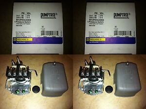 LOT-OF-2-NEW-PUMP-PROTECTION-SQUARE-D-WATER-WELL-PRESSURE-SWITCH-9013FSG2J24M4