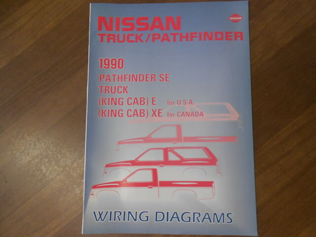 1990 Nissan Truck Pathfinder Electrical Wiring Diagram