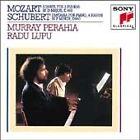 Mozart: Sonata for 2 Pianos in D major; Schubert: Fantasia for Piano, 4 hands in F minor (1986)