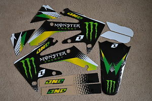 ONE-INDUSTRIES-MONSTER-GRAPHICS-HONDA-CRF250R-04-05-06-07-08-09-CRF250X-04-12
