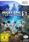 Disney Micky Epic: Die Macht der 2 (Nintendo Wii, 2013, Keep Case)