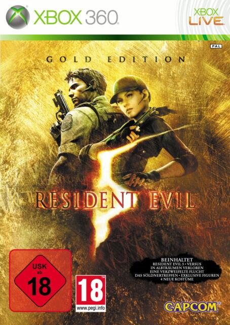 Resident Evil 5 - Gold Edition (Microsoft Xbox 360)