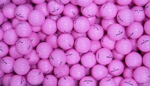 50-BRAND-NEW-OPTIC-TOUR-GOLF-BALLS-PINK