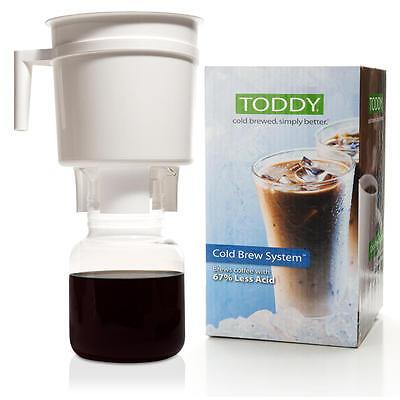 NEW Toddy Cold Brew Tea Coffee Maker Drip Espresso simple less acid, less bitter