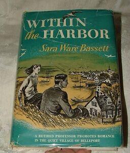 Within-the-Harbor-Sara-Ware-Bassett-1948-Romance-Cape-Cod-Near-Fine-w-DJ-Bkclub