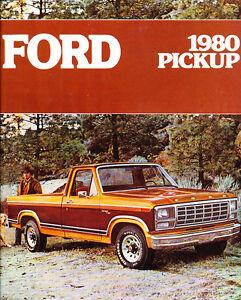1980 ford f series truck 20 page sales brochure f 150 f 2010 Ford F-350 1980 Ford F 350 4x4