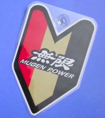 ## JDM Driver Badge Mugen Power Car Decal not vinyl sticker ##