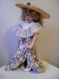 18-Bisque-Porcelain-Doll-Ashley-Limited-Edition-By-The-Hamilton-Collection