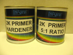 about 2k primer car paint high build 2 pack 750ml kit 5 1 pro spray. Black Bedroom Furniture Sets. Home Design Ideas