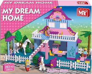 My-Dream-Home-building-block-set-Princess-House-Brick-Set-323pcs-Girls-6