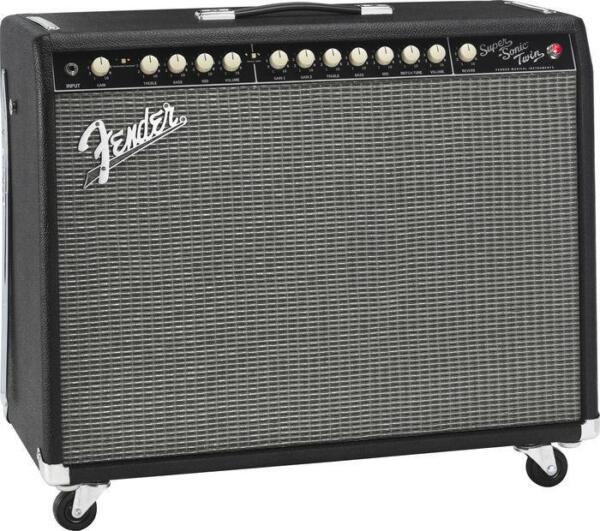 Amplificateur Guitare Fender : fender super sonic twin 100 watt guitar amp for sale online ebay ~ Russianpoet.info Haus und Dekorationen