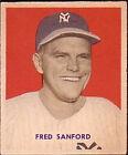1949 Bowman Fred Sanford 236 Baseball Card