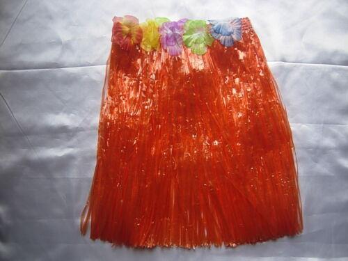 Grass Skirt Hawaiian Fancy Dress Tropical Party Garland 8 Colour Wholesale