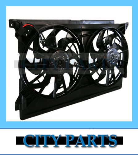 NEW AU FORD FALCON FAIRMONT RADIATOR THERMO FAN ASSEMBLY 6cyl V8 Dual Fans