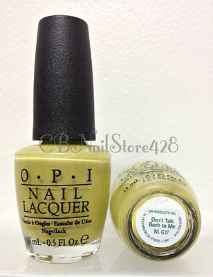 Discontinued- OPI Nail Lacquer .5oz - GERMANY Collection- Pick any Shade