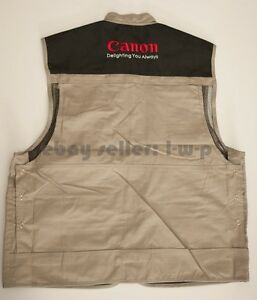 Canon-Vest-Size-XL-L-fit-5D-Mark-III-II-60D-7D-NEW-Kit-USA-Jacket-photography
