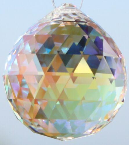 Original SWAROVSKI ELEMENTS Kristall Kugel Aurore Boreal AB in Regenbogenfarben