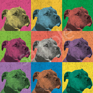 STAFFORDSHIRE BULL TERRIER OUR DOGS OLD 1947 DOG BREED ...  |American Pit Bull Terrier Vintage