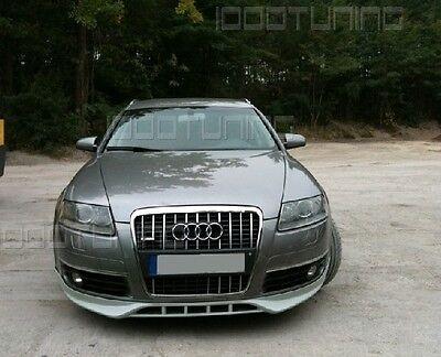 Audi A6 C6 4F Front Spoiler Spoiler lip Spoiler Tuning S6 RS6 Spoiler
