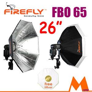 Aurora-FBO65-Firefly-Beauty-Box-Flash-Softbox-26-034-Octabox-for-Canon-Nikon-Pentax
