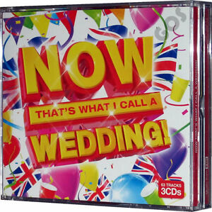 Now-Thats-What-I-Call-A-Wedding-Album-3-CD-The-Party-Hit-Songs-Dance-Music-New