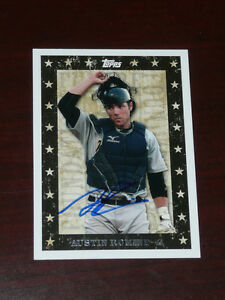 AUSTIN-ROMINE-Signed-2010-Pro-Debut-Future-Foundations-AUTO-Autograph-NY-Yankees