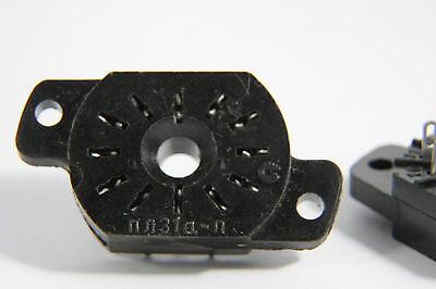 6 x PL31a-p ( ПЛ31а-п ) socket for IN-12, IN-15 ( IN12, IN15 ) VINTAGE USSR F/SH