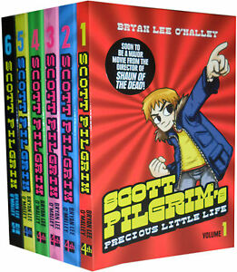 Scott-Pilgrim-6-Books-Collection-Set-Bryan-Lee-O-039-Malley